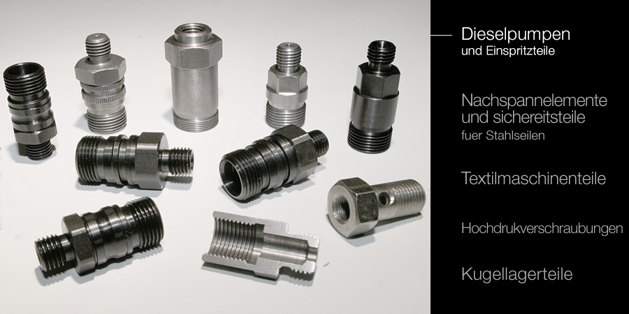 Diesel pumpo components